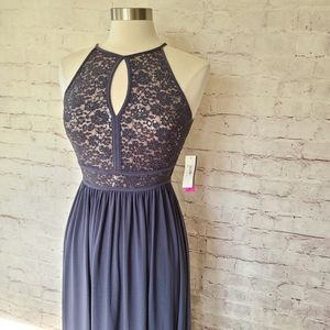 NWT Morgan & Co. Lace & Sequin Prom Evening Dress